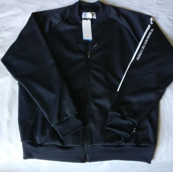 Adidas Nmd D-TT Q4 Full Zip Track Jacket Black e1fe3c8ec601
